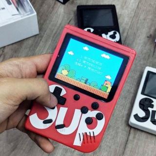 (MUA MÁY GAME TẶNG TAY GAME) Máy Chơi Game Cầm tay sup 400 trò chơi +tay cầm chơi 2 người thumbnail