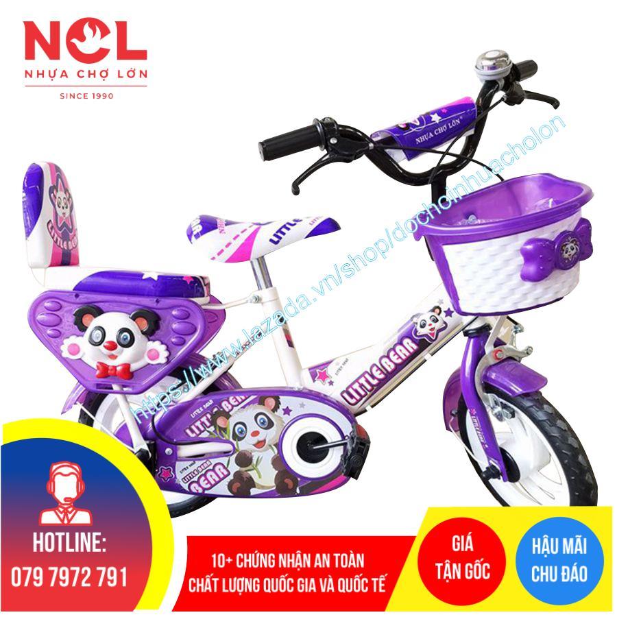 Mua Xe đạp trẻ em Nhựa Chợ Lớn 12 inch K86 - M1567-X2B
