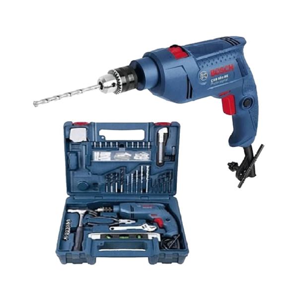 Bộ  khoan động lực Bosch GSB 550 SET 100  PHỤ KIỆN