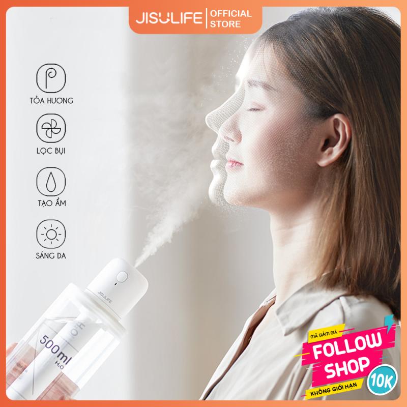 Máy phun sương tạo ẩm không khí, tươi mát cho da Lollipop Jisulife JB07 – Máy khuếch tán tinh dầu mini dùng mọi nơi, lực phun mạnh toả hương thơm dịu nhẹ giảm stress, cổng sạc USB tiết kiệm điện (Bảo hành 12 tháng)