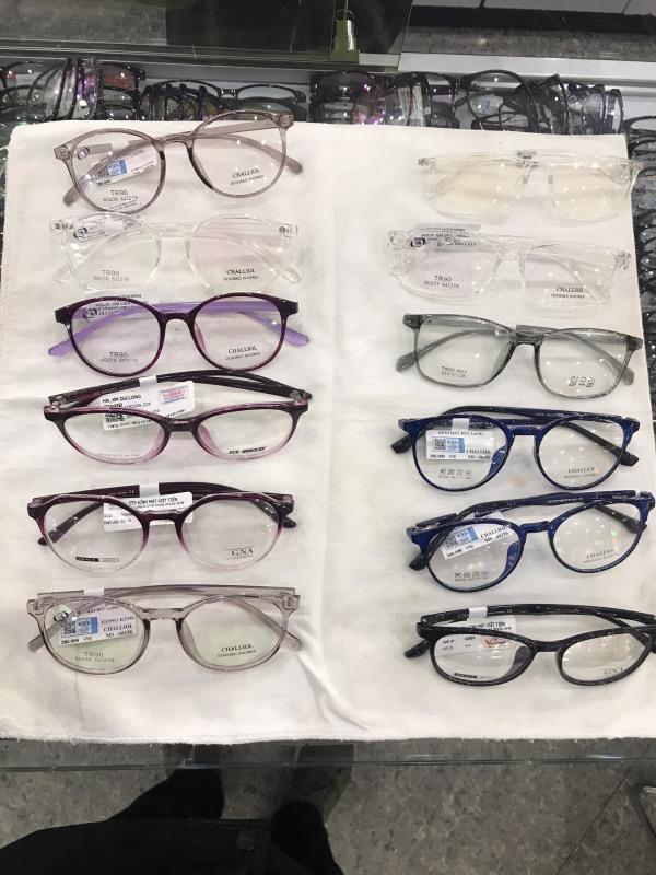 Giá bán Gọng kính nhựa xanh Blue