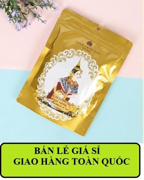 Miếng dán thải độc bàn chân Lana Foot Patch Thái Lan (10 Miếng) nhập khẩu