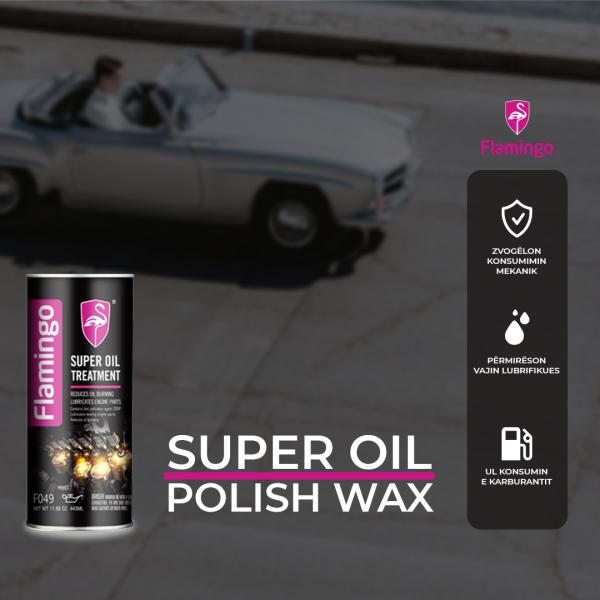 Dung dịch phụ gia dầu nhớt Flamingo Super Oil Treatment F049
