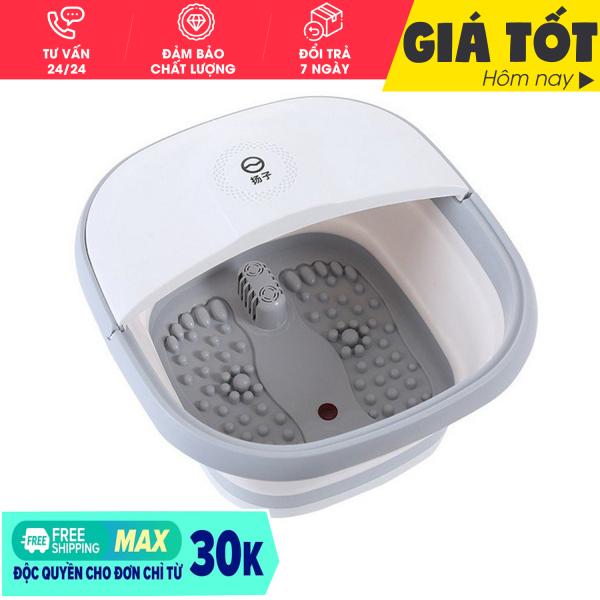 [ Hàng loại 1]  Chậu ngâm chân massage cắm điện gấp gọn, Bồn Ngâm Massage Chân Cắm Điện gấp gọn trừ phong thấp, lưu thông khí huyết-Thùng mát xa chân thư giãn ( HỖ TRỢ ĐỔI TRẢ 7 NGÀY)
