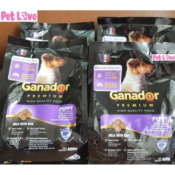 COMBO 4 GANADOR thức ăn hạt cho chó con (4 x 400g/ gói)