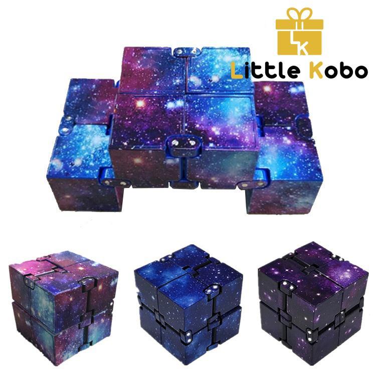 Mã Giảm Giá Khi Mua [13 Màu] Khối Lập Phương Vô Cực Infinity Cube Galaxy