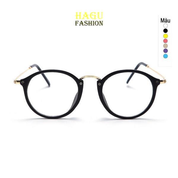 Giá bán Kính Gọng Cận 💗 Mắt kính form tròn kim loại phong cách Hàn Quốc 547 chống tia UV kiểu dáng thời trang