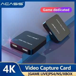 ACASIS 4K HDMI Video Capture Card HDMI Video Record Box for PS4 Game DVD Camcorder HD Camera Recording Live Streaming thumbnail