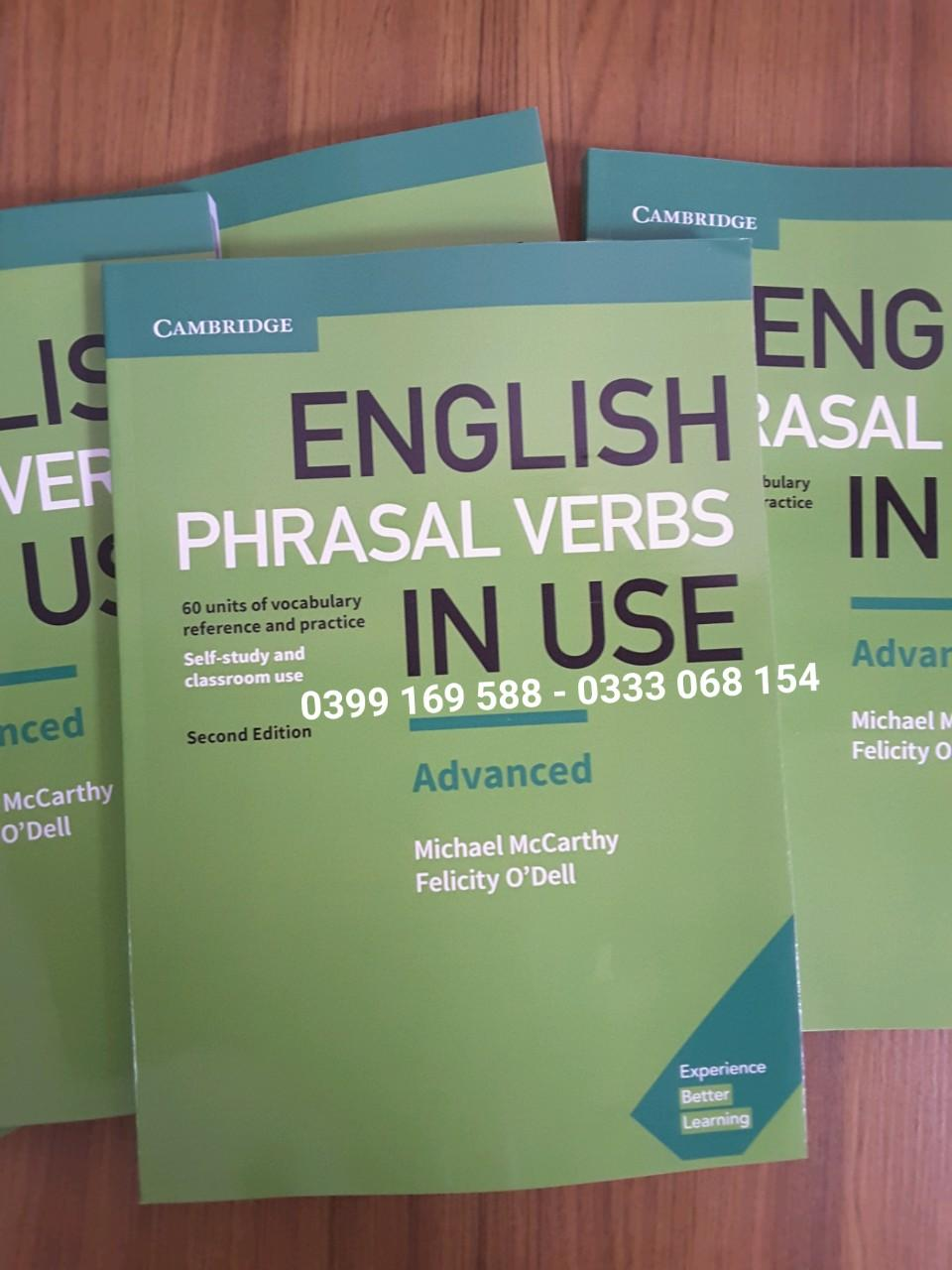 Cambridge English Phrasal Verbs In Use Advanced 2nd Edition With Answer Có Giá Siêu Tốt