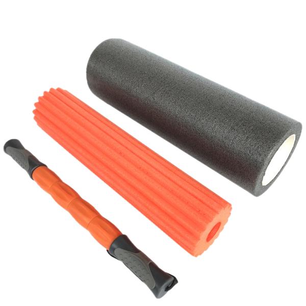 Bảng giá 1Set Three-In-One Foam Shaft Yoga Column Deep Massage Stick Membrane Column Foam Roller Tissue Fascia Massage Equipment