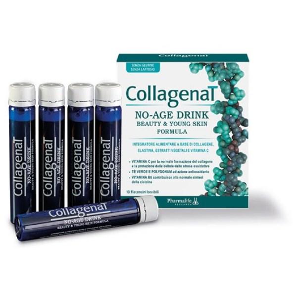 Thực phẩm chống lão hóa, làm sáng da CollagenaT No Age (Hộp 10 ống) giá rẻ