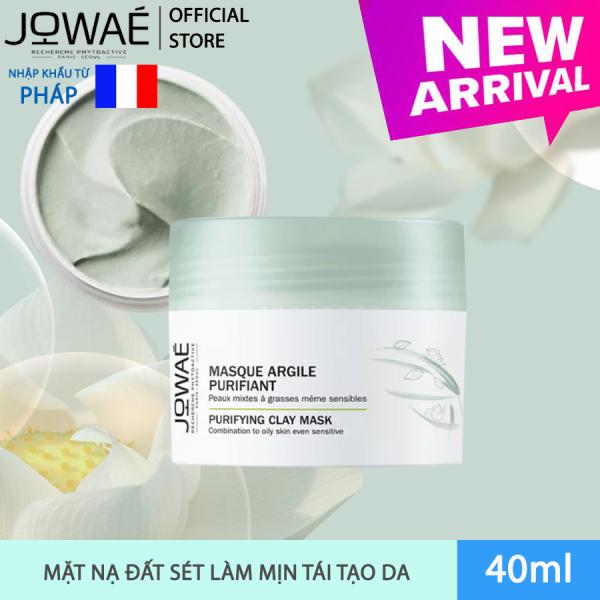 Mặt nạ đất sét JOWAE thanh lọc làm mịn và tái tạo da mỹ phẩm nhập khẩu chính hãng từ Pháp - PURIFYING CLAY MASK 50ml