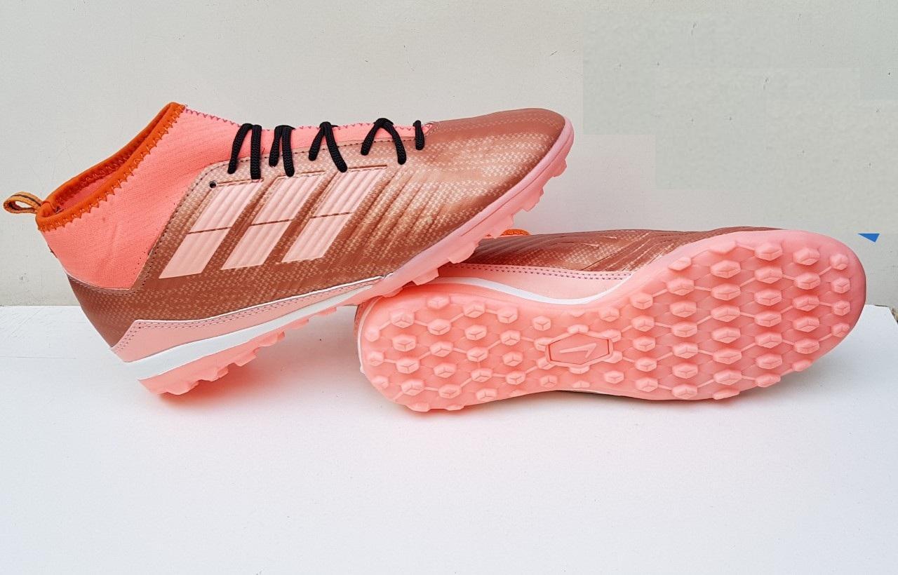 Giày đá bóng cao cổ Predotor hàng cao su - cỏ nhân tạo Nhật Bản