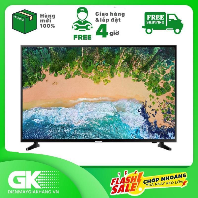 Smart Tivi Samsung 4K 55 inch UA55NU7090 - Công nghệ PurColor mang lại màu sắc san trọng, âm thanh Dolby Digital Plus trong trẻo - Bảo hành 2 năm - Giao hàng trong 4 giờ chính hãng
