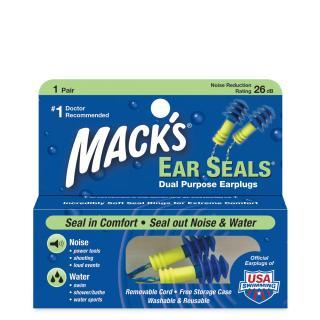 Hộp 1 đôi nút bịt tai đi bơi Ear Seal ( 11) - Nhập khẩu Mỹ thương hiệu Mack s thumbnail