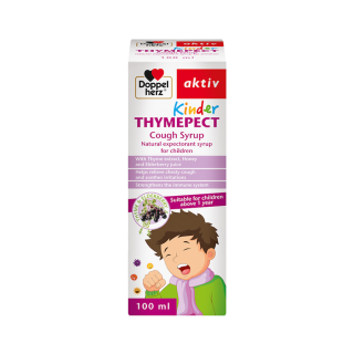 [HCM]Giảm ho KINDER THYMEPECT 100ML - Hỗ trợ điều trị ho có đờm và giảm kích ứng đường hô hấp thumbnail