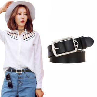 Thắt lưng nữ, dây nịt dây lưng nữ kiểu dáng thời trang, chất liệu da bò cao cấp, bản rộng 2.8cm thích hợp với quần jean, quần âu,váy, đầm NT195 thumbnail
