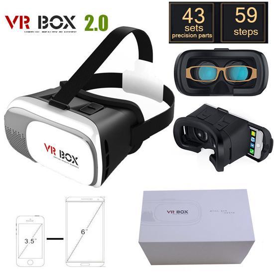 Giá Kính xem phim thực tế ảo Chuẩn 3D VR Box dùng cho tất cả các dòng điện thoại Phiên bản mới nân cấp 2020