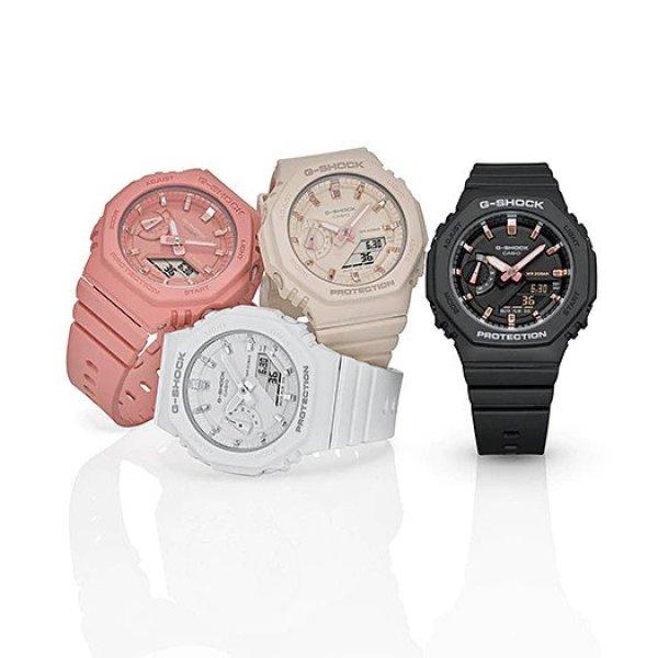Đồng hồ casio nữ dây nhựa G-SHOCK GMA-S2100-7ADR chính hãng