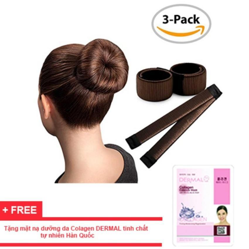 Dụng cụ búi tóc tạo kiểu tóc màu đen
