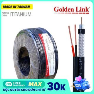 [HCM]Cuộn 100M cáp camera đồng trục liền nguồn Golden Link RG59U+2C thumbnail
