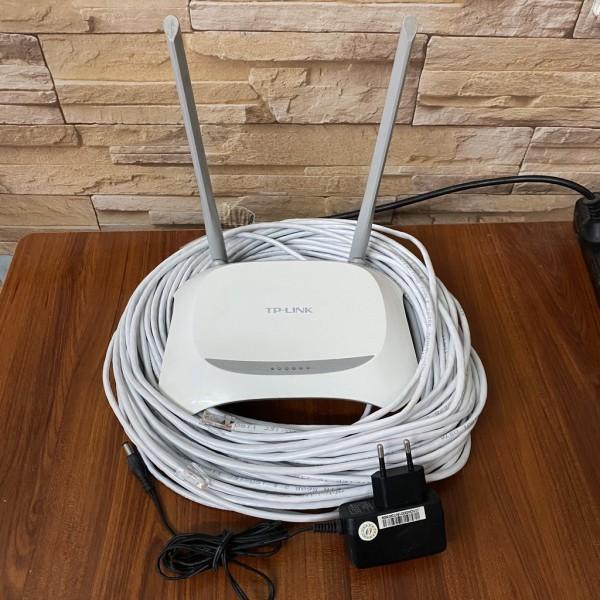 Bảng giá Bộ phát Wifi TPLink 2 râu + Dây mạng 5m, 10m, 15m ...50m - CAT5E xịn Phong Vũ