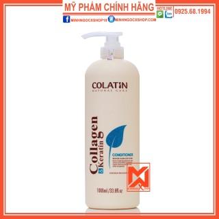DẦU XẢ DƯỠNG CHẤT TƠ TẦM COLATIN 1000ML CHÍNH HÃNG thumbnail