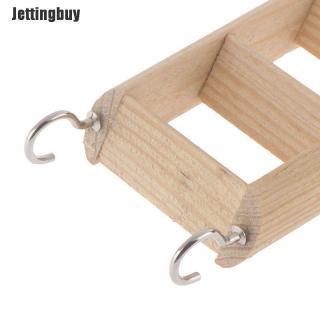 Sản Phẩm Phụ Kiện Chơi Game Jettingbuy, Bậc Thang Hamster Bằng Gỗ, Dành Cho Đồ Chơi Leo Trèo 6