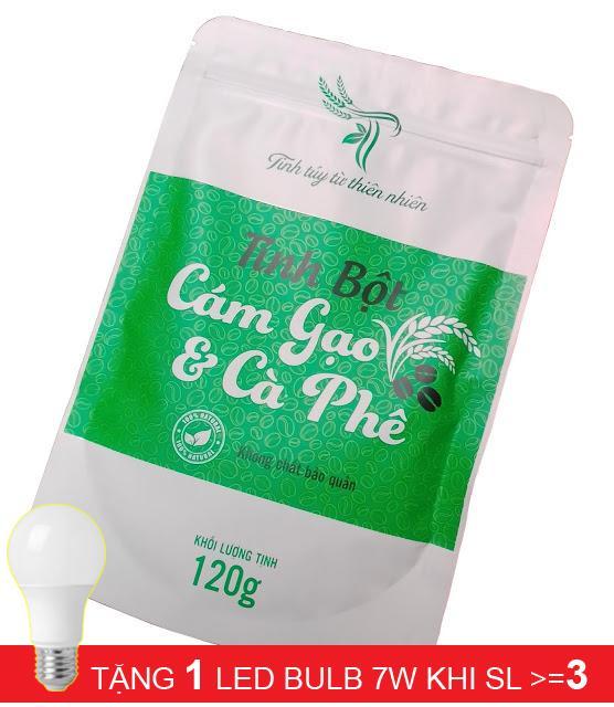 Tinh bột cám gạo cà phê nhập khẩu