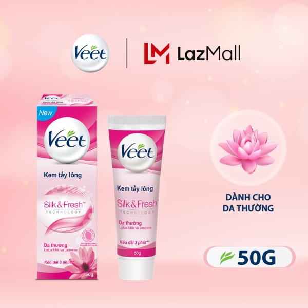 Kem Tẩy Lông Cho Da Thường Veet Silk Fresh 50G giá rẻ