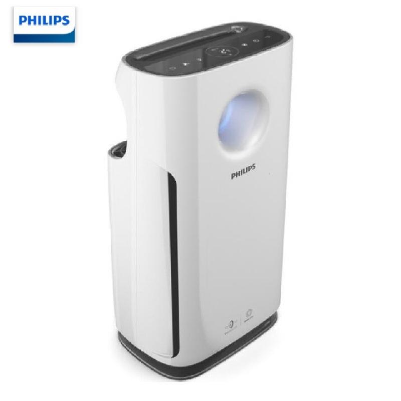 Máy lọc không khí cao cấp nhãn hiệu Philips AC3256/00 công suất 60W, tích hợp 4 cảm biến chất lượng không khí ( Màu trắng)