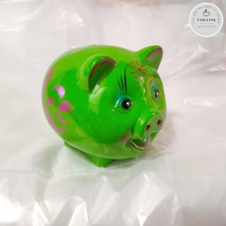 Lợn đất tiết kiệm đựng tiền size NHỎ cute đẹp giá rẻ TABILINE LD01 5