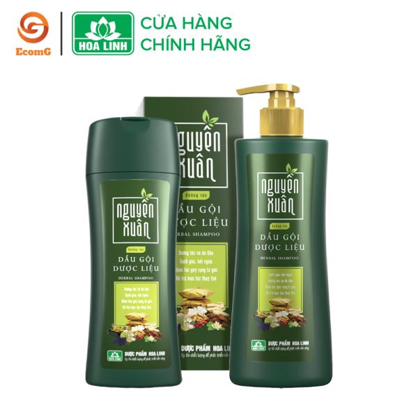 Dầu gội dược liệu Nguyên Xuân xanh - Dầu gội dưỡng tóc, phục hồi hư tổn, cho mái tóc dày, mềm mại, suôn mượt- NX1