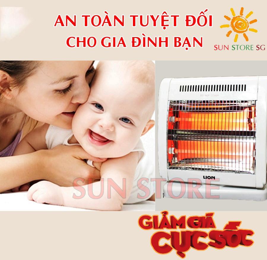 May Suoi Hong Ngoai - Đèn Sưởi Điện Ấm Áp Cho Người Già - Bảo Hành 1 Đổi 1 Bởi SUN STORE(SG)