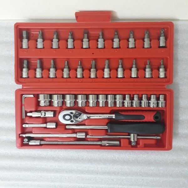 Bộ dụng cụ mở ốc vít-Bộ dụng cụ mở ốc vít 46 chi tiết - 46mon