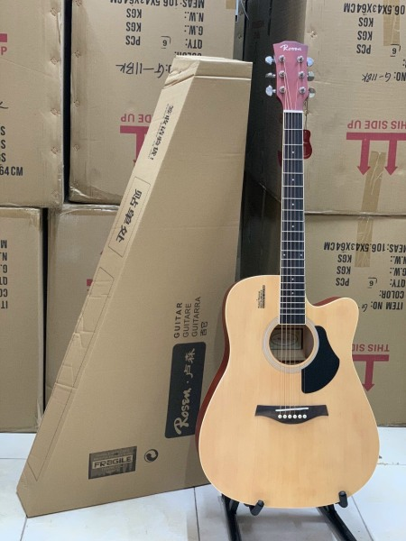 Guitar tosen G11bk màu gỗ
