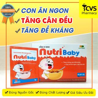 Cốm Vi Sinh NutriBaby Nutri Baby - Phòng Viêm Đường Hô Hấp & Biếng Ăn thumbnail