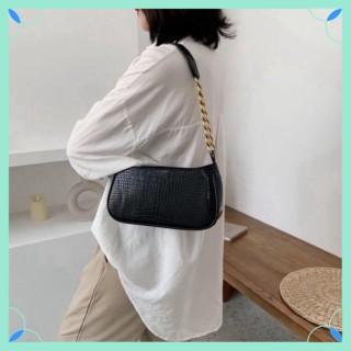 Túi kẹp nách dây xích bản to đẹp dày dặn Túi xách nữ túi xách đeo chéo LATIPI thumbnail