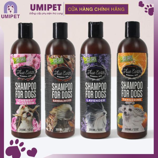 Sữa tắm cho Chó True Earth Lavender 355ml UMIPET- An toàn cho da, không gây đọc hại cho thú cưng của bạn