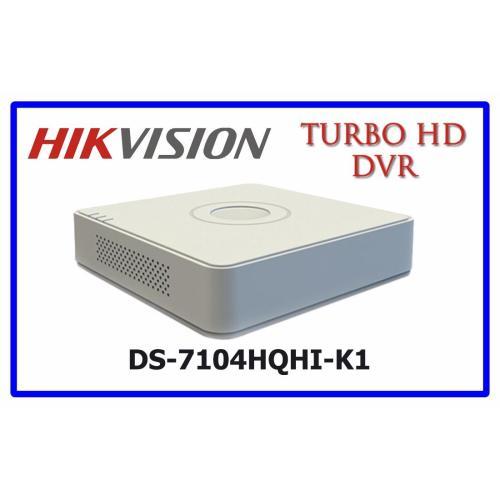Đầu ghi hình HD TVI Hikvision 4 kênh DS-7204HQHI-K1 chuẩn H.265+ - Bình Minh Company