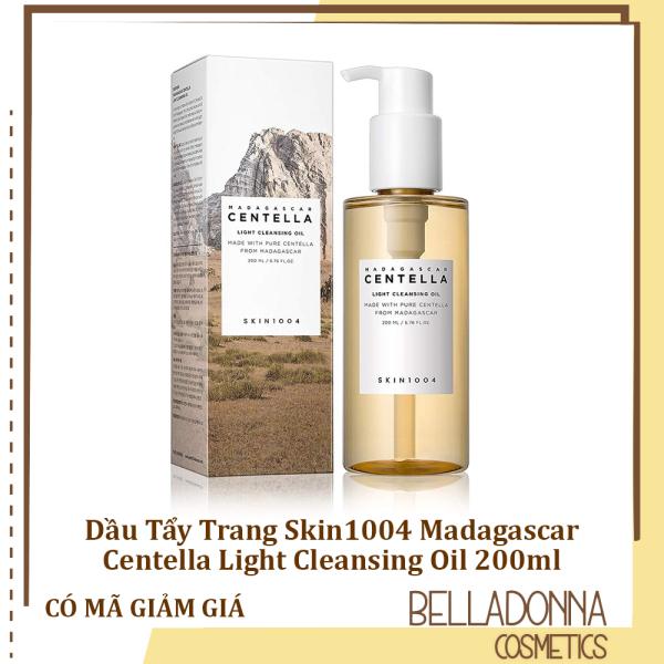 Dầu Tẩy Trang Skin1004 Madagascar Centella Light Cleansing Oil 200ml