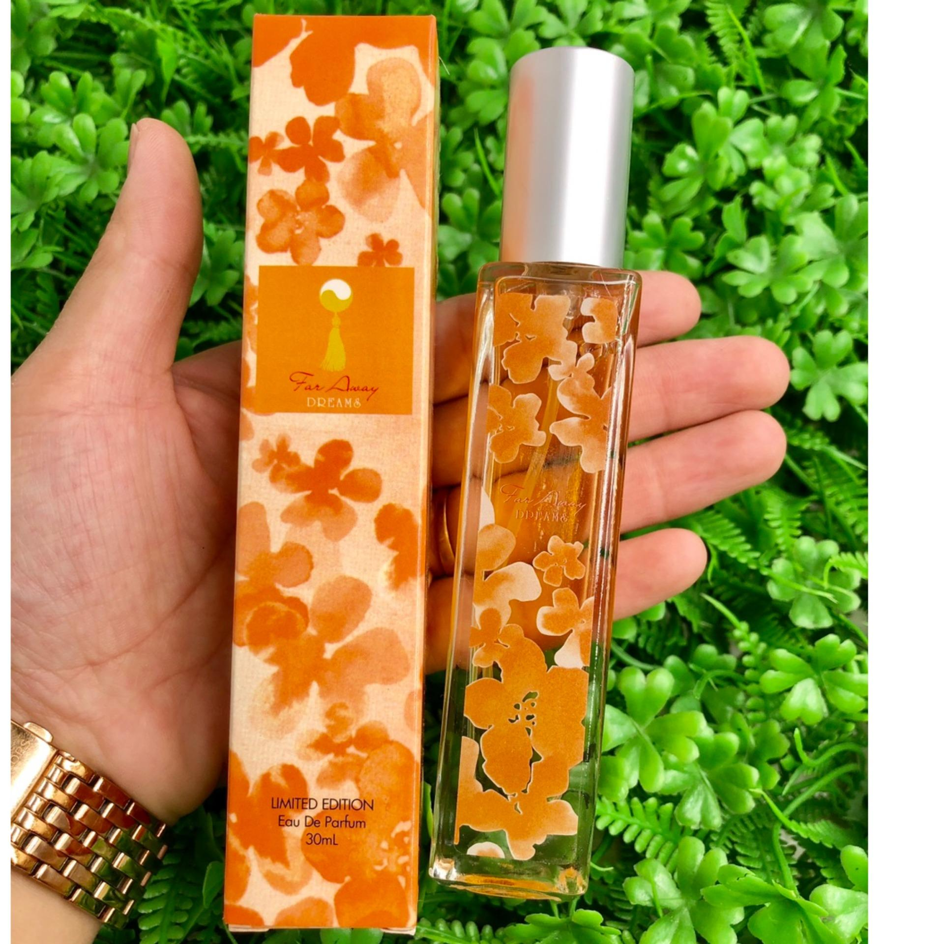 Nước Hoa Nữ Far Away - DREAMS 30ml (Cam Flowers)