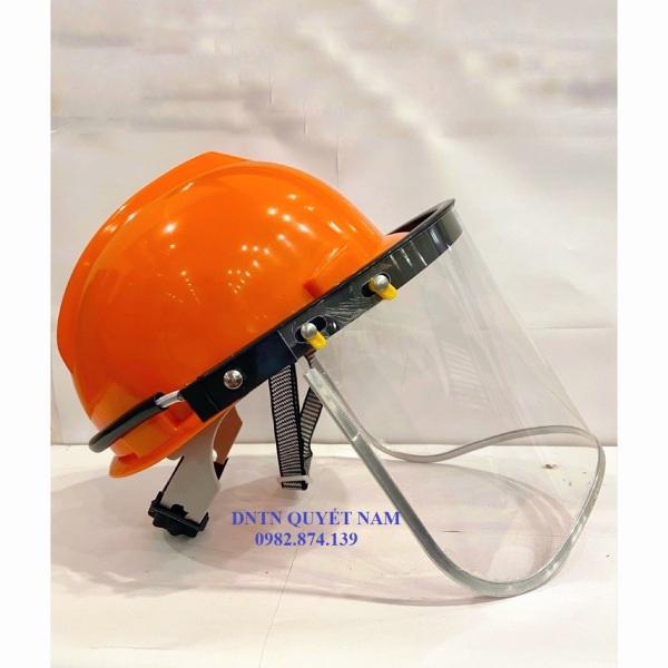 Mũ bảo hộ máy cắt cỏ - Mặt kính