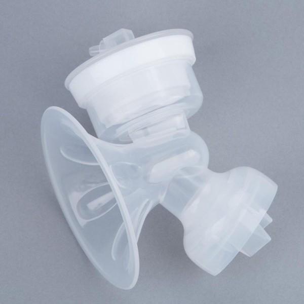 Phụ kiện máy hút sữa ICHIKO - Bộ cổ phễu đầy đủ (cổ phễu, van, màng, nắp màng ) như hình