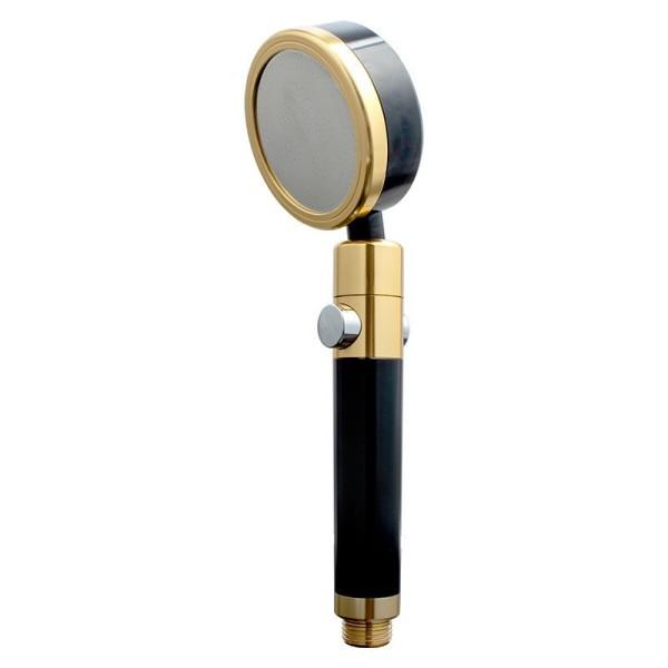 Bảng giá Vòi sen tăng áp bằng nhôm đúc cao cấp có nút bật tắt nước màu vàng đen - vs0055 sản phẩm đa dạng về mẫu mã kích cỡ màu sắc chất lượng đảm bảo