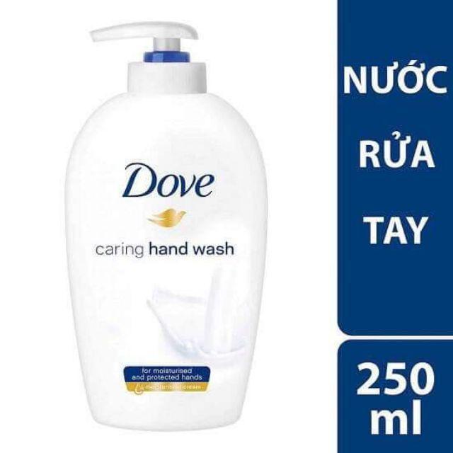 Combo 2 chai Sửa Rửa Tay DOVE Mềm Mịn Tự Nhiên 250 ml*2 nhập khẩu