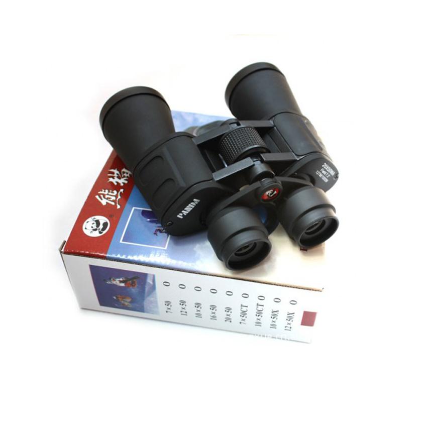 Ống Nhòm Siêu Nét, Ống Nhòm Quân Đội Panda 2 Mắt 20x50 Chuyên Dụng Siêu Zoom Nhìn Xa Hình Ảnh Chân Thực, Rõ Nét Bảo Hành Uy Tín Lỗi 1 Đổi 1