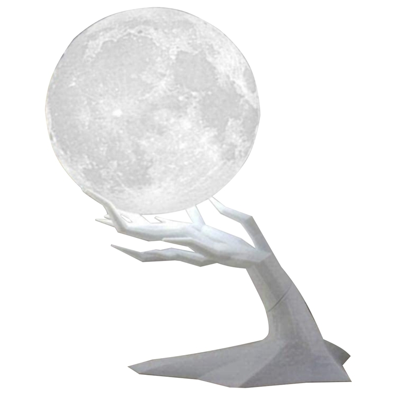 Ultrasonic Air Humidifier Moon Lamp Humidifier with LED 3 Colors Night Light USB Aromatherapy Diffuser Home Humidifier Singapore