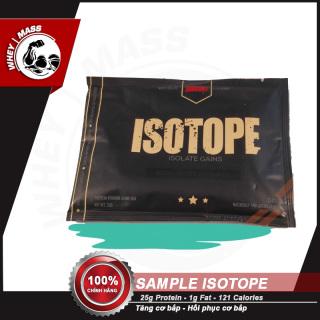 Gói Dùng Thử Sữa Tăng Cơ Bắp 100% isolate Whey Isotope (1 lần dùng) - Redcon1 Authentic 100% thumbnail