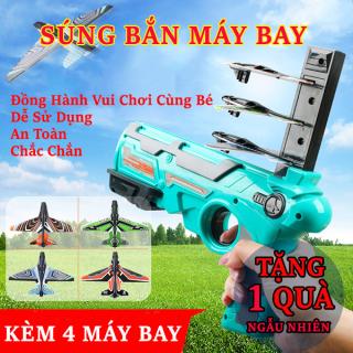 ( QUÀ TẶNG CHO BÉ ) Sung đồ chơi - Đồ chơi sung phóng máy bay cho trẻ em - Đồ chơi máy bắn máy bay lượn mô hình trẻ em, Đồ chơi phát triển trí tuệ, niềm vui cho bé thumbnail